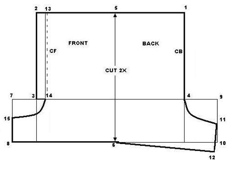 pattern drafting of short pants boxer shorts weekend designer