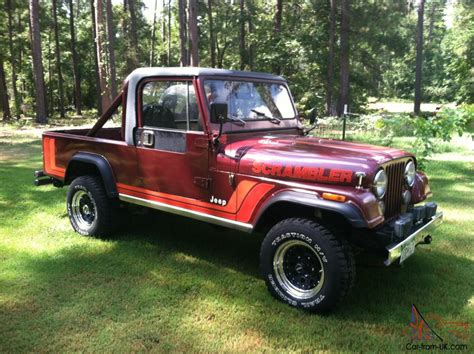 Jeep Scramblers For Sale One Owner Original Jeep Scrambler