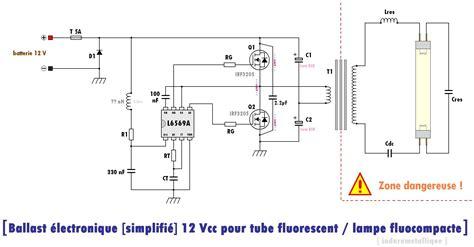 Lu Neon Tl Led Dc 12v 5w ballast 233 lectronique 224 entr 233 e 12 vcc pour