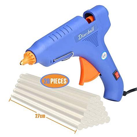 Glue Gun 60watt Promo glue gun discoball 60 watt melt glue gun with 20pcs transparent glue gun sticks for