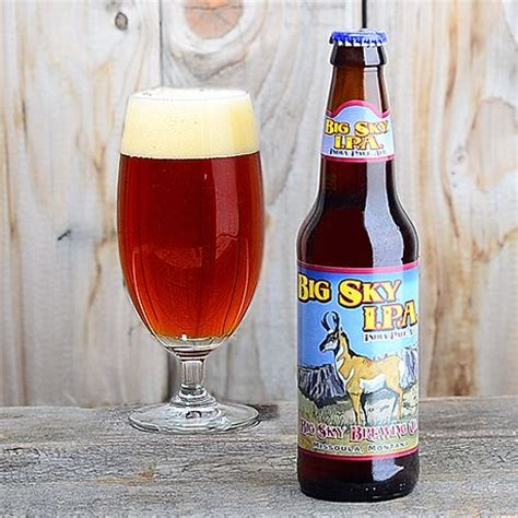 hairstyle ipa big sky brewing s big sky ipa style ipa color amber