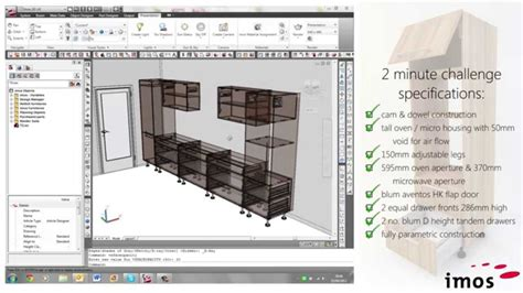 cad software for woodworking imos cad 2 minute challenge