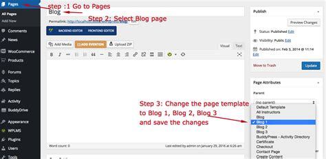 change layout of wordpress blog change blog layout in 2 0 wplms wordpress lms documentation
