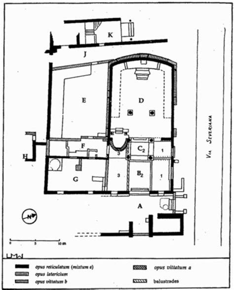 synagogue floor plan lect 21 ostia art history 222 with terrenato at