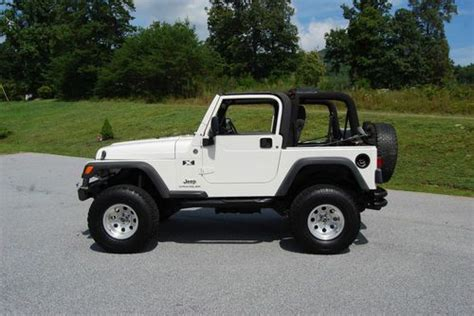 2005 Jeep Wrangler X Sell Used 2005 Jeep Wrangler X Lifted 33 Quot Tires 6