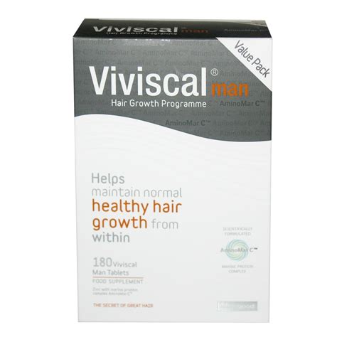 viviscal hair growth tablets viviscal man 180 tablets hair loss medical hair care