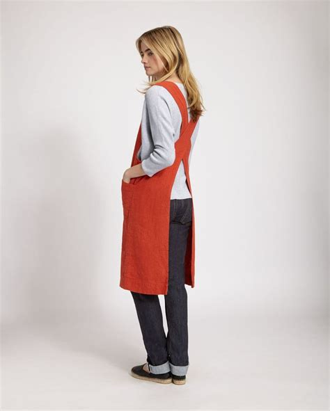 sewing apron straps 73 best i love linen images on pinterest simple clothing