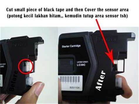 error brother dcp j125 printer ink absorber full signal brother dcpj125 cannot detect ink cartrige fixya