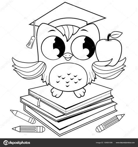 mont 243 n de libros de dibujos animados ilustraci 243 n vector dibujos de graduaci n para colorear dibujos para dibujos