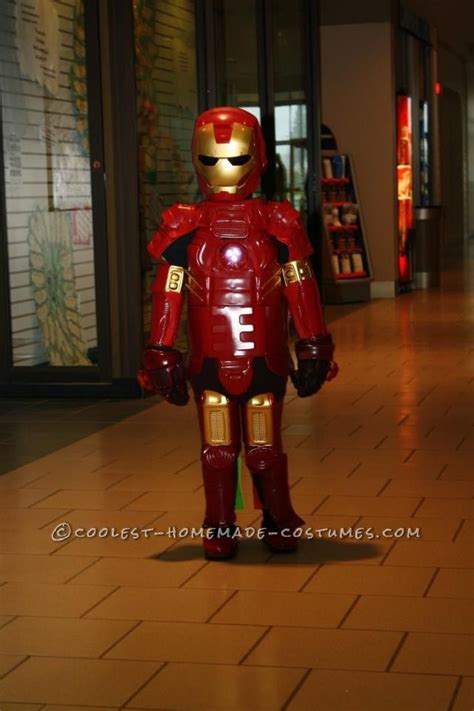 awesome iron man costume hand   recycled plastic