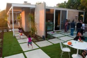 there s a in the backyard says a houzz landscaping