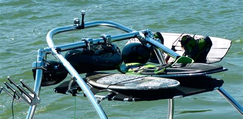 cargo rack bimini top universal wakeboard tower bimini top