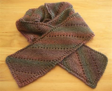 free knit scarf pattern scarf knitting free pattern patterns gallery
