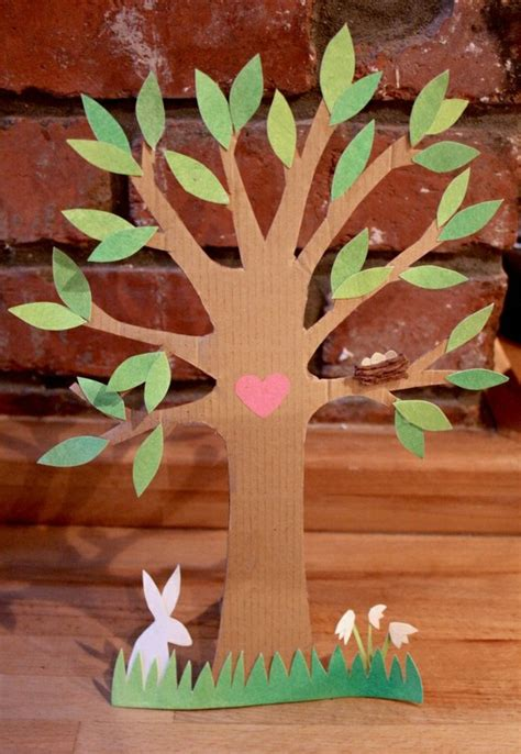 how to make trees cardboard isn t grand