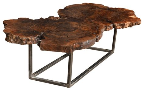 black walnut coffee table rustic coffee tables by