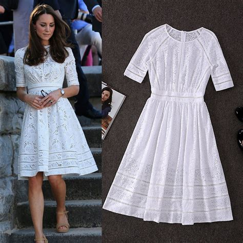 Get Look Kate Middletons Topshop Tunic Dress by White Kate Middleton Dress Tunic Flora Big Swing