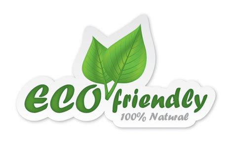 Eco Friendly by Eco Friendly Sticker Vector Free