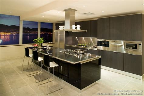 Contemporary Kitchen Island Designs by Of Pictures Of Kitchen Countertops