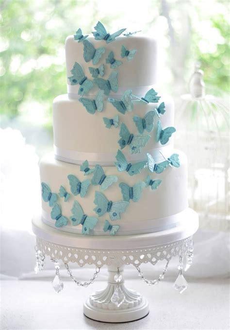 Wedding Philippines   25 Elegant Tiffany Blue Wedding Cake