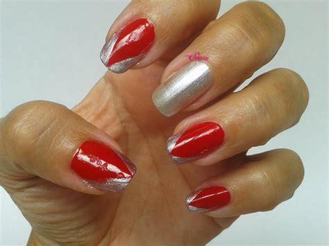 imagenes uñas decoradas rojas el maletin de la se 241 orita sonso manicura roja y plata