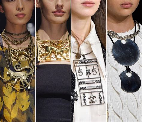 Trend Worth Trying Jeweled Necklines by Summer 2015 Accessory Trends Fashionisers