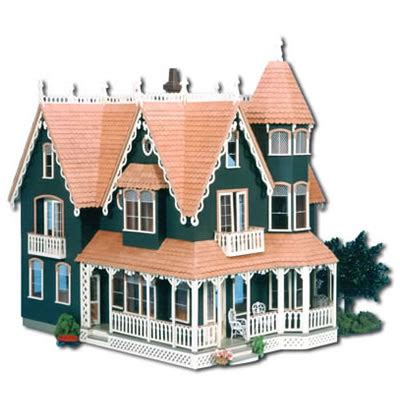 greenleaf doll house garfield dollhouse kit