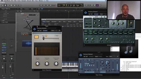 tutorial audio fx widget logic pro x tutorial sound design with the note repeater