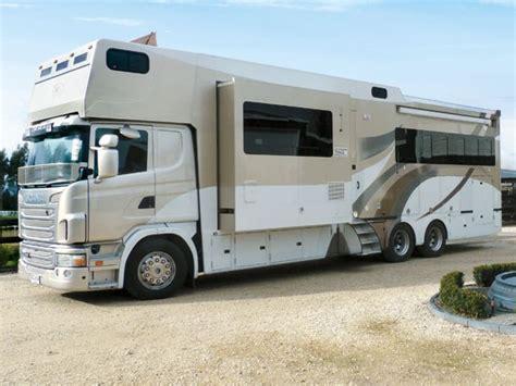 scania truck motorhome and caravan destinations