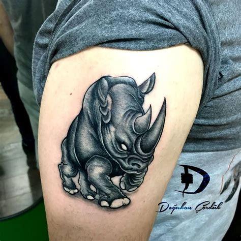 rhino tattoo rhino tattorhino tattoos tattooart tattoolove