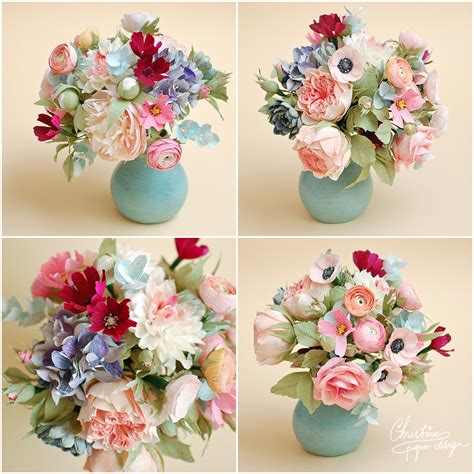 Wedding Flower Paper Centerpiece by Paper Flower Centerpieces Flowers Ideas For Review