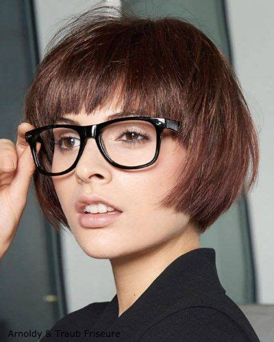 Bangs Hairstyle With Glasses by Best 25 Bangs And Glasses Ideas On Blunt