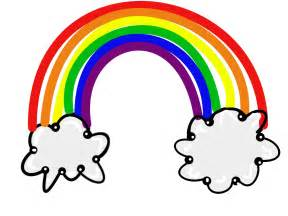 Image result for rainbow clip art free