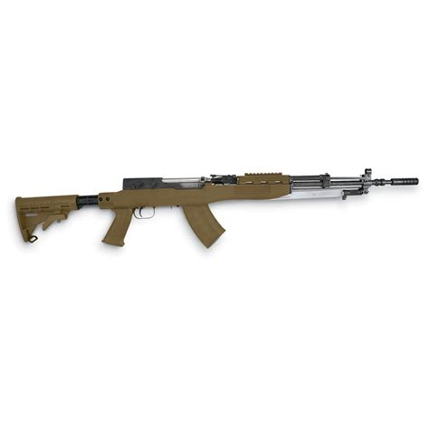 stock photo tapco t6 6 position sks stock with blade bayonet cut 106930 stocks at sportsman s guide
