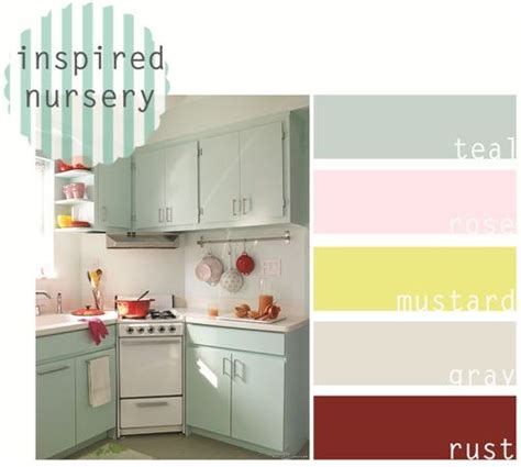 teal and yellow kitchen retro nursery inspiration teal pink and yellow