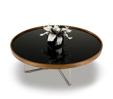 Black And Brown Coffee Table Dreamfurniture 226e Modern Brown Black Coffee Table