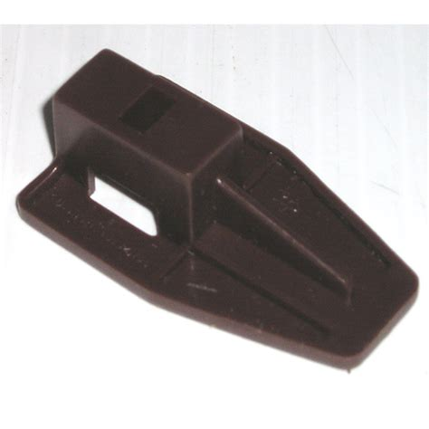 Plastic Drawer Slide Guides kenlin brown plastic drawer stop slide runner fits guide