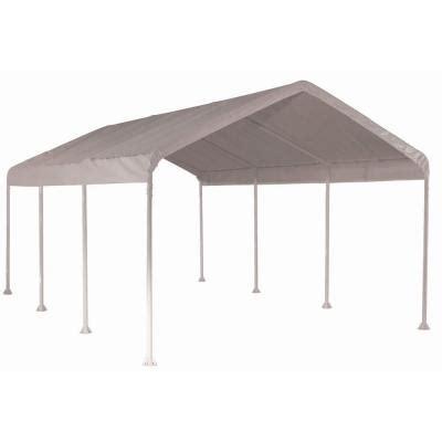 shelterlogic max 10 ft x 20 ft white heavy duty 8