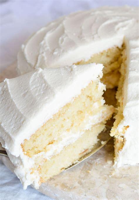buttermilk vanilla cake recipe from scratch recipe vanilla cake vanilla buttercream