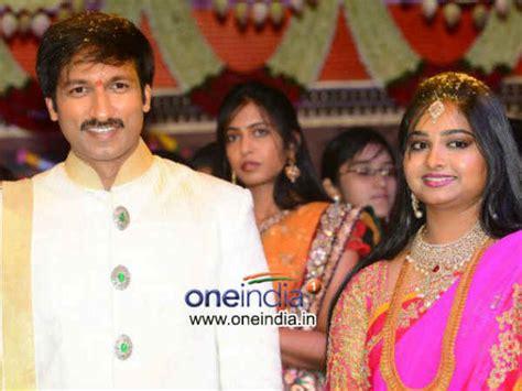 telugu actor srikanth wedding photos exclusive photos gopichand reshma wedding filmibeat