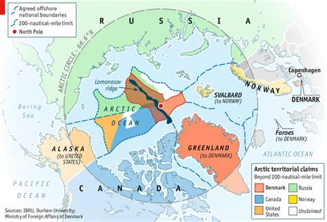 Arctic Continental Shelf by The Continental Shelf Geological Or Geopolitical