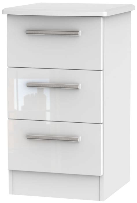 High Gloss White Cabinets by Bedside Cabinets White High Gloss Memsaheb Net