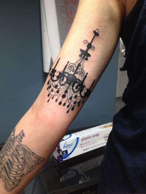 silhouette tattoos chandelier silhouette ideas