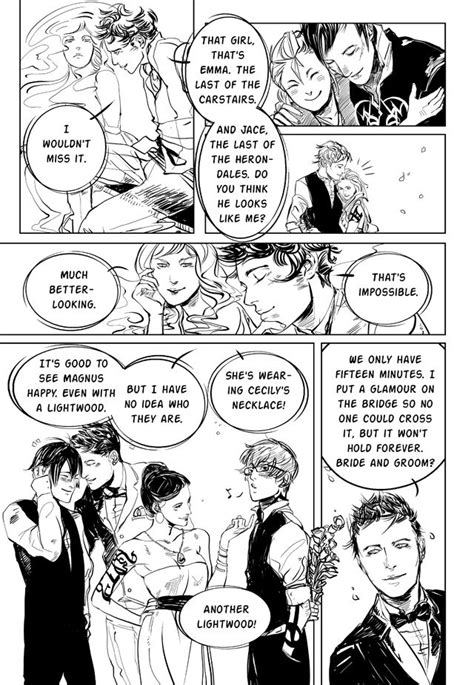 9 best Comic Strip scenes from 'City of Heavenly Fire