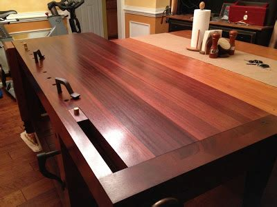 mahogany roubo workbench woodworking talk woodworkers