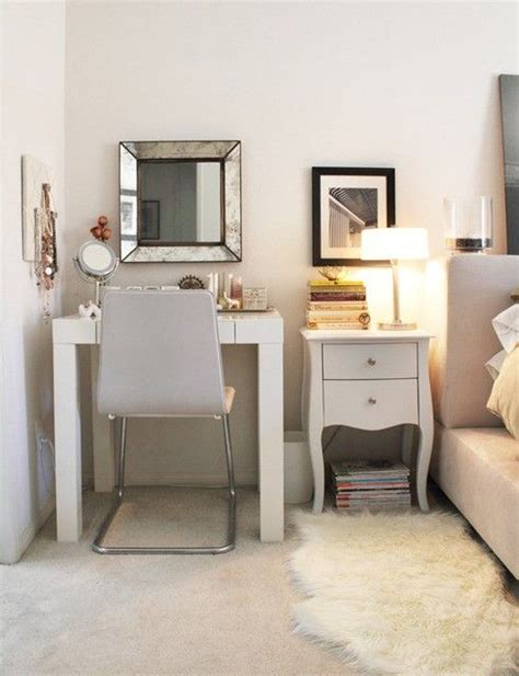 Small Vanity Desk Bedroom by Vanity Inspiration For A Small Space Cotton