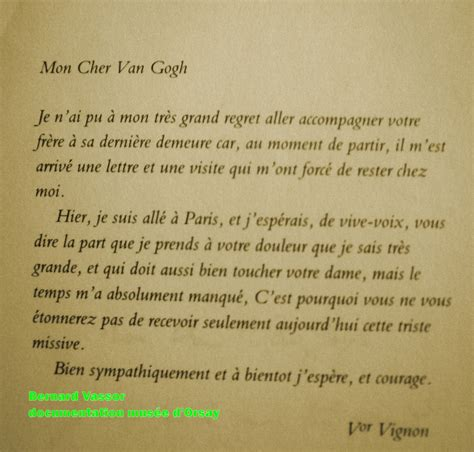 Lettre De Remerciement D Un Eleve A Prof Renoir Autour Du P 232 Re Tanguy