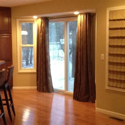curtains for sliding glass doors in kitchen curtains for sliding glass doors photos