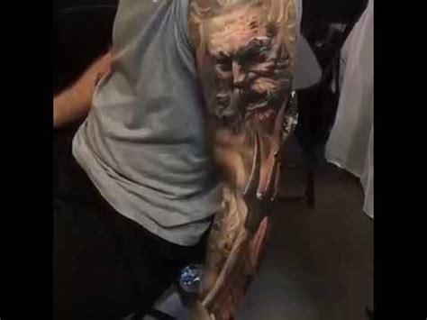 zeus vs poseidon tattoo youtube