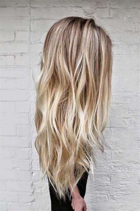 long blonde hairstyles and colours 25 cool layered long hair styles hairstyles haircuts