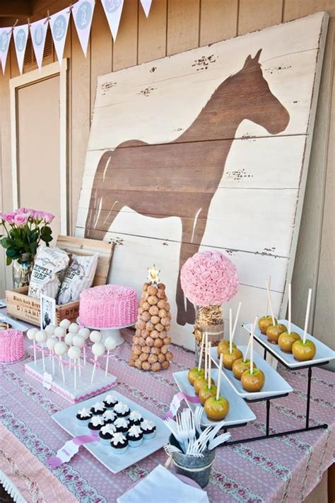 horse themed events 10 rustic kids birthday party ideas rustic baby chic